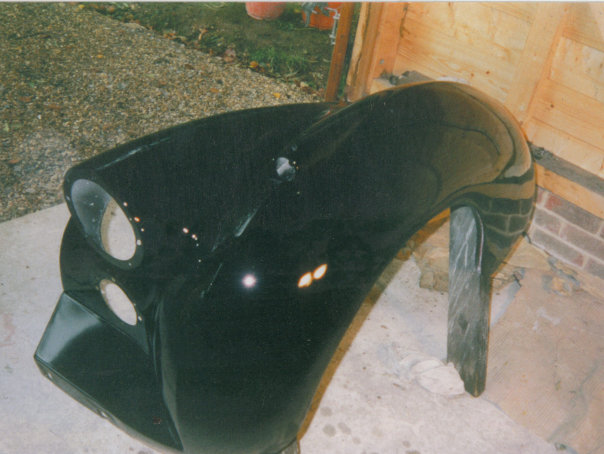 Riley nearside front wing