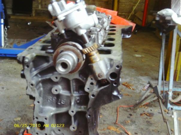 Jaguar Mk II engine