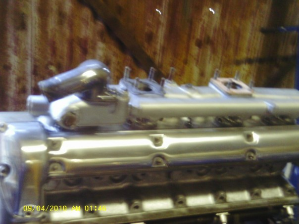Jaguar cylinder head restored