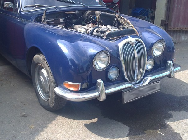 Jaguar Mk II – project start