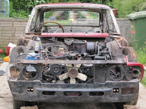 Lancia head on